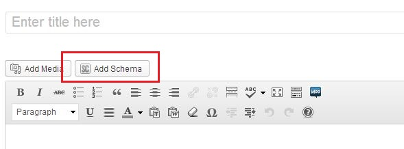 Schema Markup WordPress Plugin